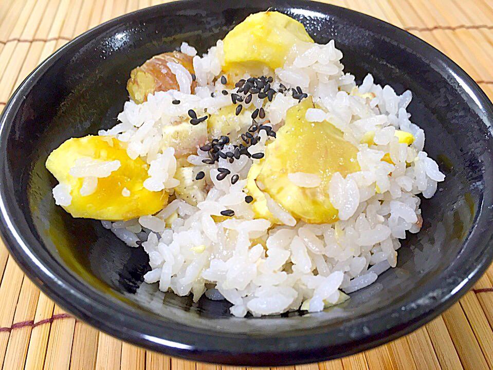 秋の味覚♡栗ご飯