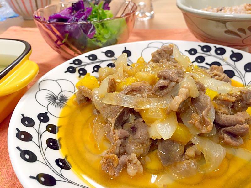 ラム肉のパプリカ煮込み☼