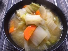 野菜もりもり味噌うどん❀