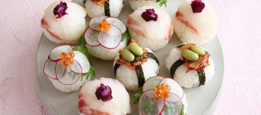 【発酵の日レシピ】塩糀で夏の手毬すし