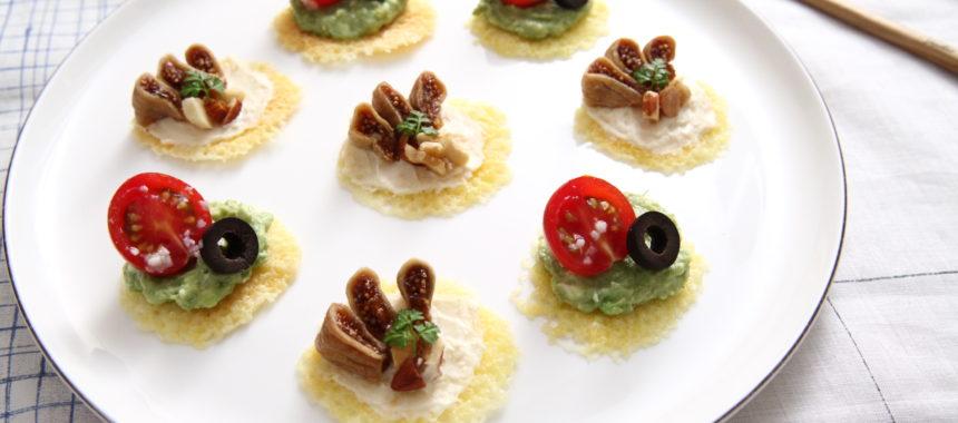 【発酵の日レシピ】パリパリーチーズの発酵カナッペ2種