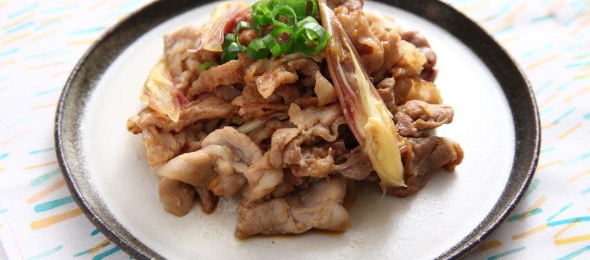 【発酵の日レシピ】豚肉と薬味のさっぱりしょうゆ糀炒め