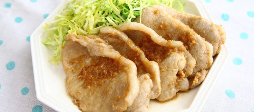 【手作り甘酒レシピ】甘酒でやわらか!豚の生姜焼き