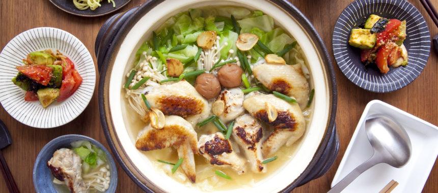 AllAbout「オトコノキッチン」冬到来!グリル手羽のがっつり鍋を囲むふたりごはん!