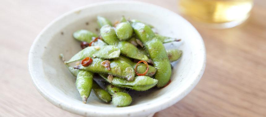 塩茹で不要!すぐできるペペロン枝豆
