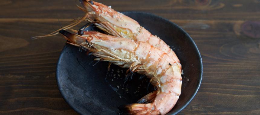 【簡単おせち】海老の塩焼き