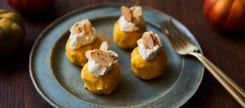 【糖質控えめレシピ】おからのかぼちゃサラダ