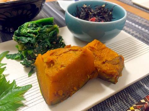 かぼちゃのカレースパイス煮❀