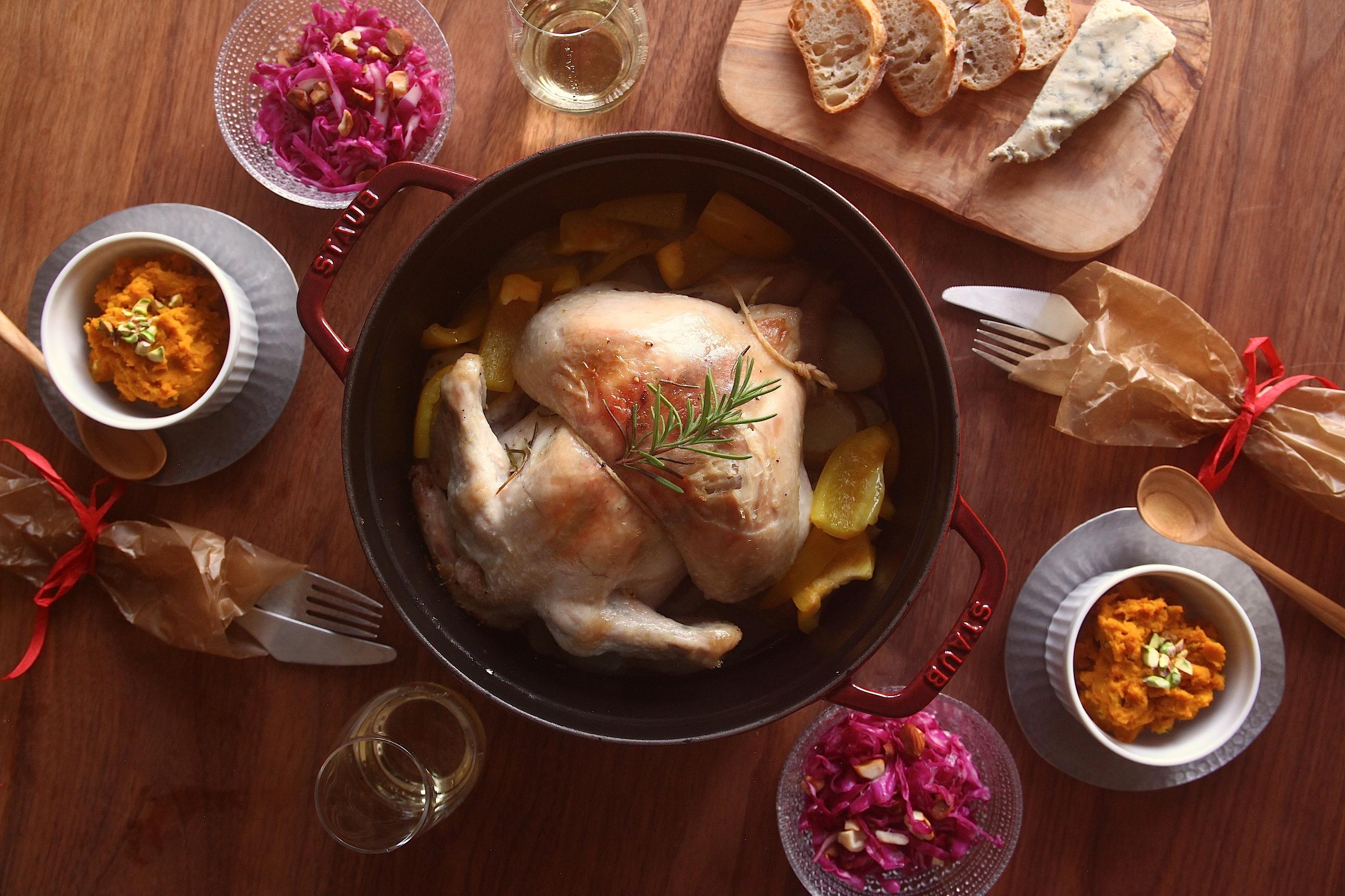 「オトコノキッチン」ワイン片手にクリスマス料理