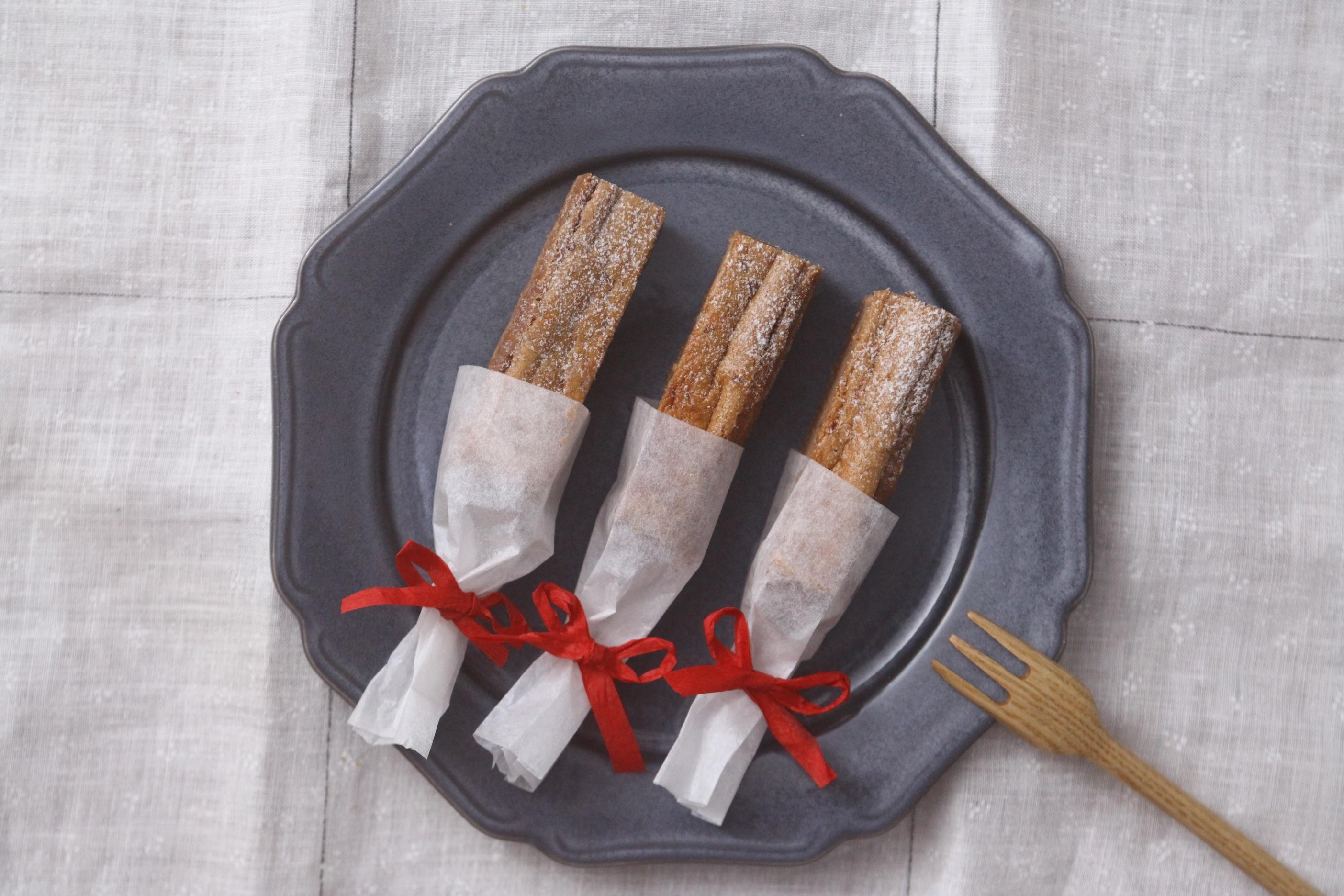 クリスマスにも!スティックチョコケーキ
