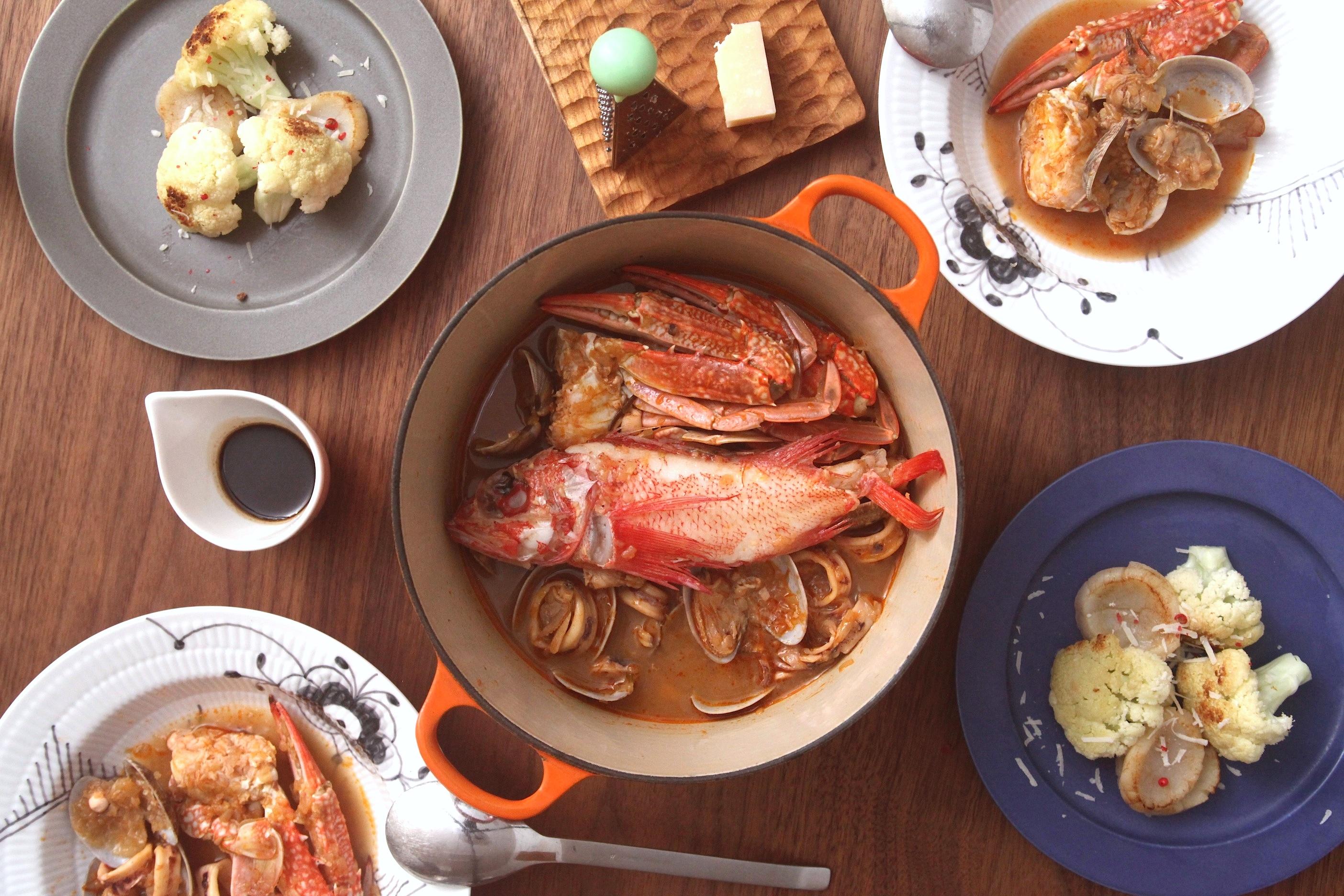 「オトコノキッチン」旬の魚介で!旨味たっぷりシーフード