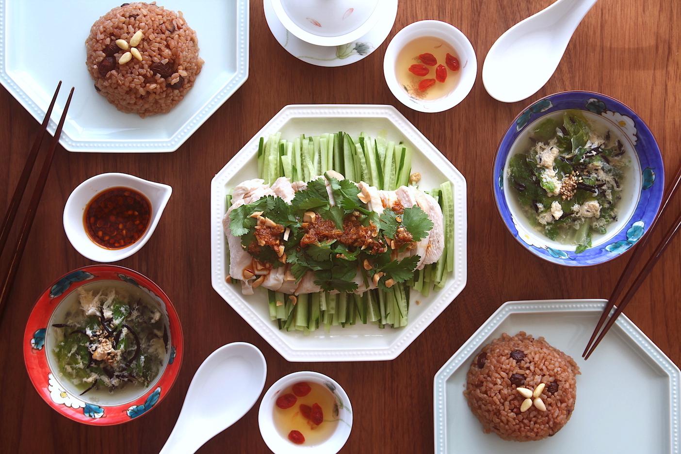 「オトコノキッチン」香味野菜たっぷり!よだれ鶏を囲む中華食卓!