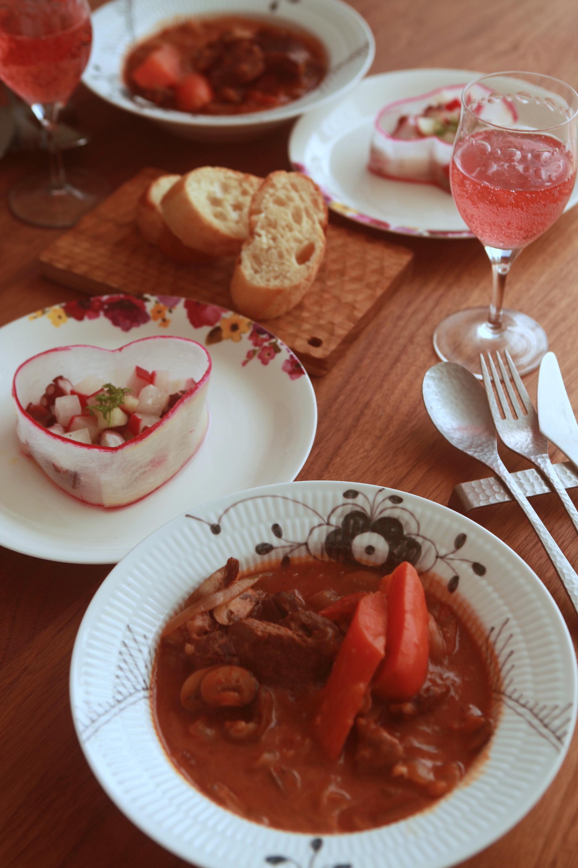Nadia記事公開!「一緒に作ると愛が深まる♡バレンタインおうちごはん」