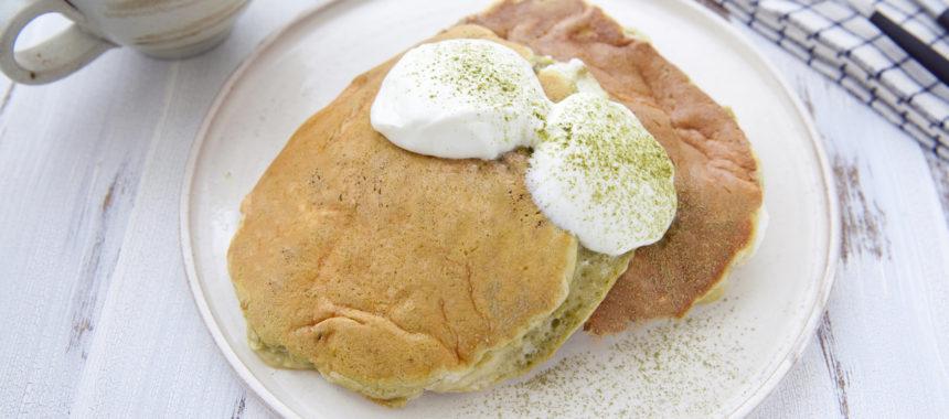 太陽のマルシェレシピ!花粉症対策「柿茶のふわふわパンケーキ」