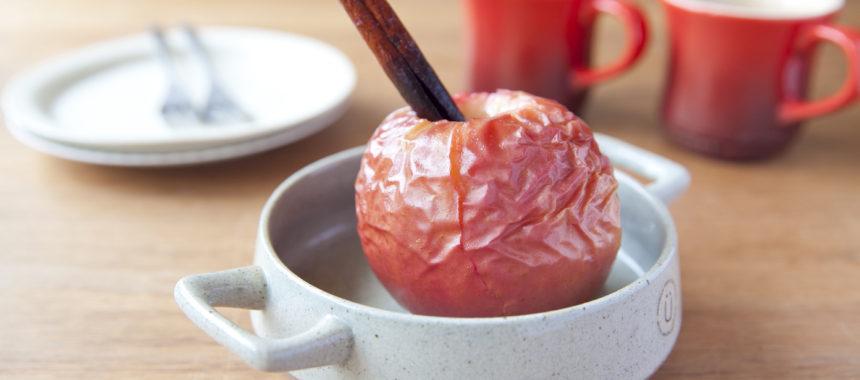オーブン任せ!丸ごと焼きりんご