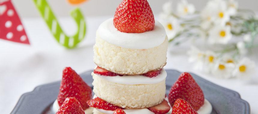 【「カルピス」レシピ】お誕生日おめでとう!お手軽キャンドルケーキ