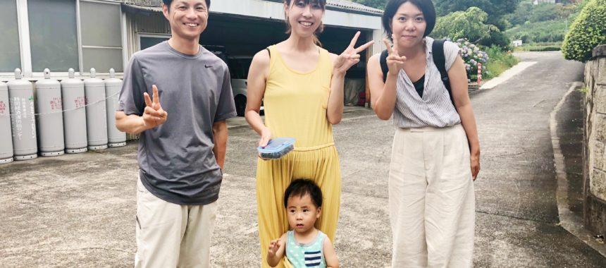 掛川のお茶農家、田中農園さんにお邪魔しました