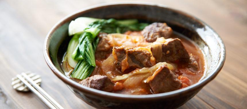 【台湾料理】本格、牛肉麺