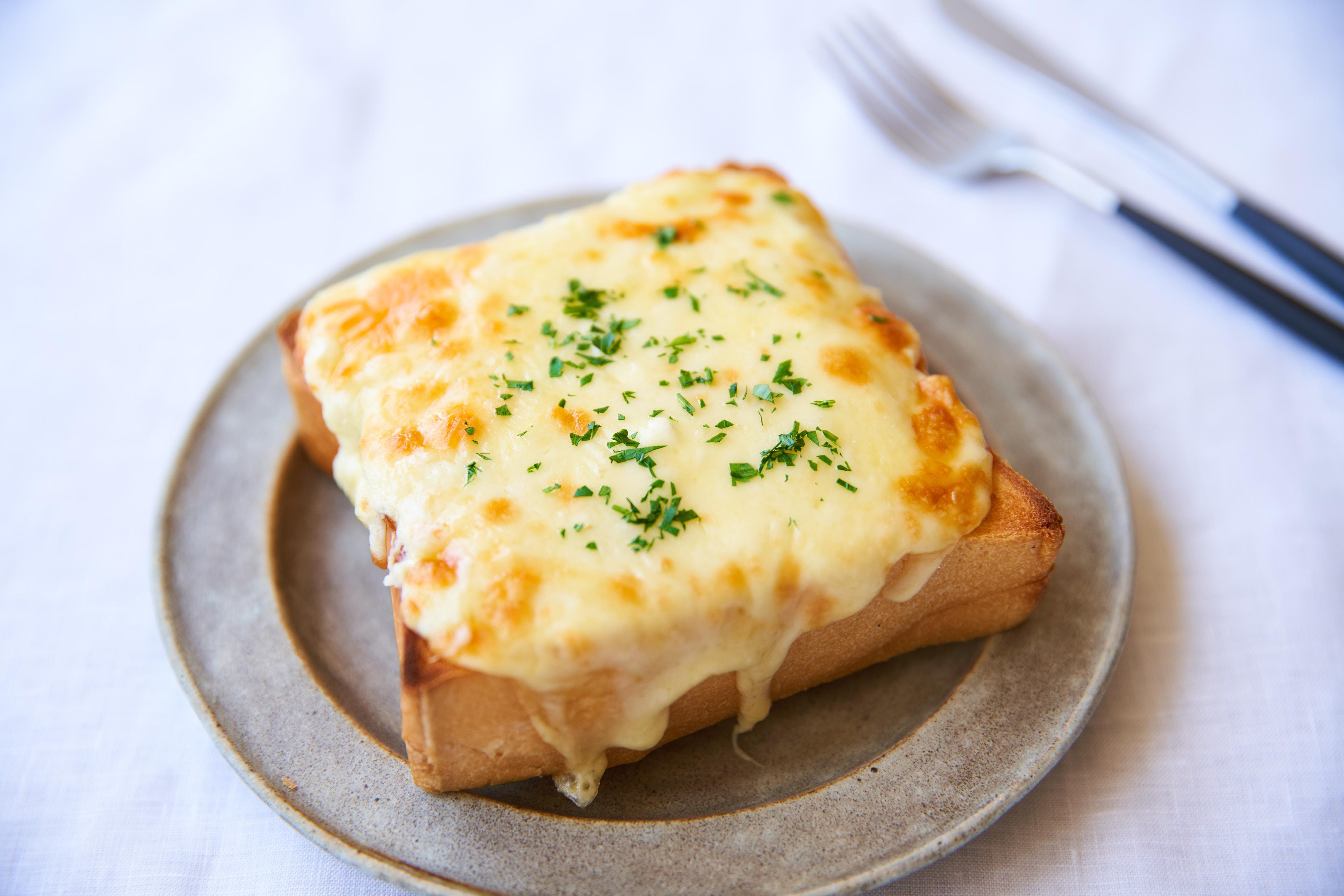 トースト クリーム チーズ