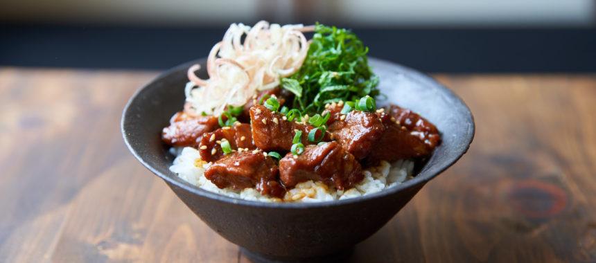 【フライパンでできる】薬味たっぷり魯肉飯
