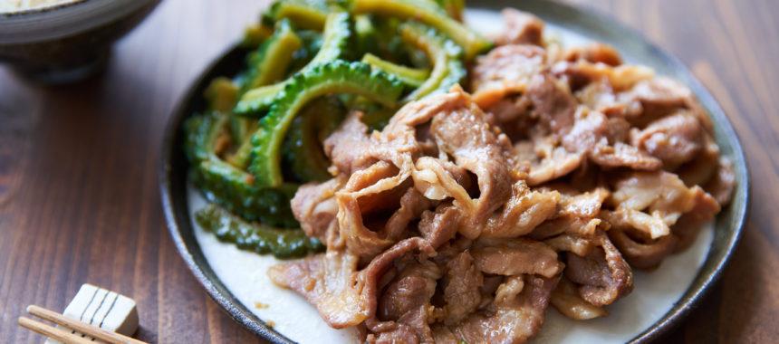 【夏バテ対策】ゴーヤと豚の生姜焼き