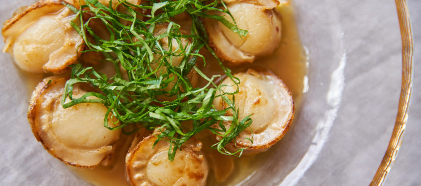 【太陽のマルシェレシピ】焼きほたての魚醤マリネ