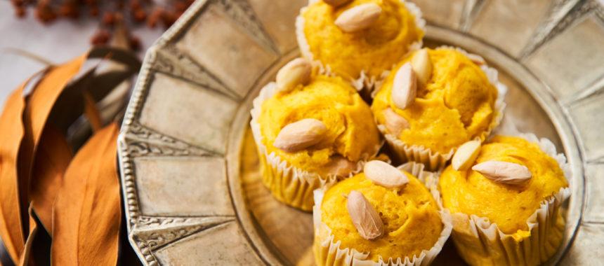 【太陽のマルシェレシピ】生落花生のかぼちゃ蒸しパン