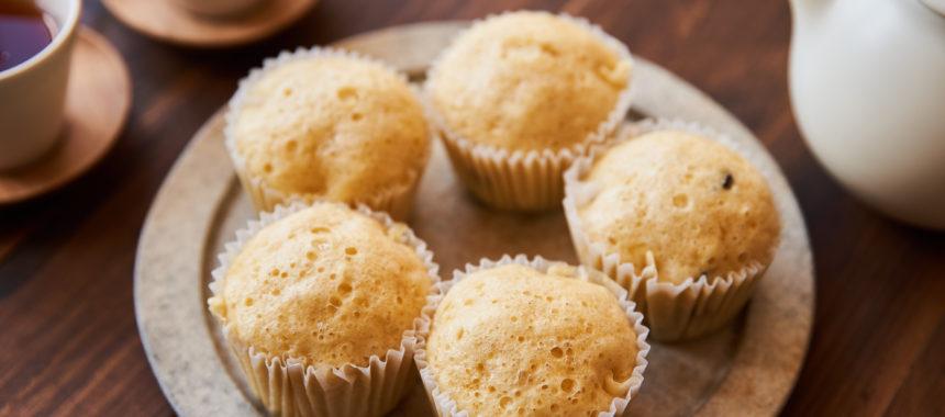 シンプルにつくる、基本の豆乳蒸しパン