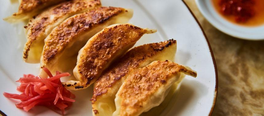 【ELLE gourmet 掲載】キャベツの芯と紅しょうがのささみ餃子