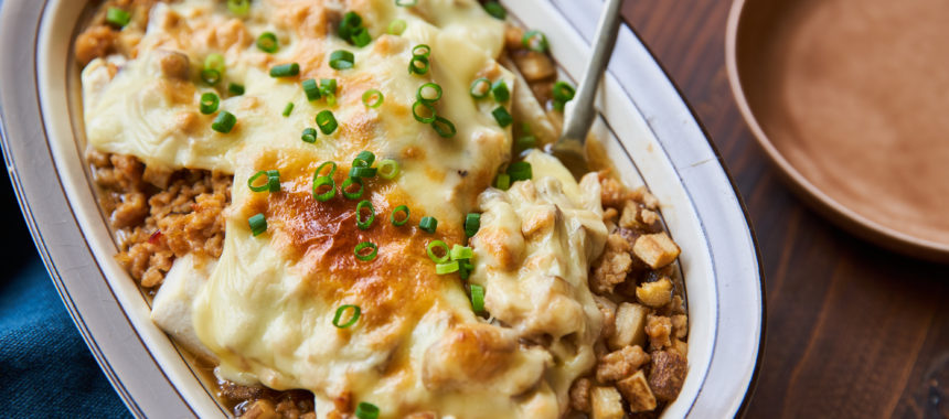 【糖質控えめレシピ】お豆腐のチーズグラタン