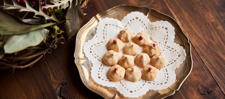 卵白1個で、シナモンメレンゲクッキー