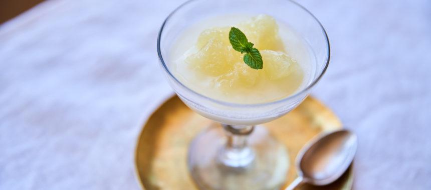 【糖質控えめレシピ】グレープフルーツのヨーグルトゼリー