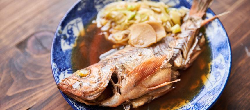 メバルの煮付け(魚の煮付け)