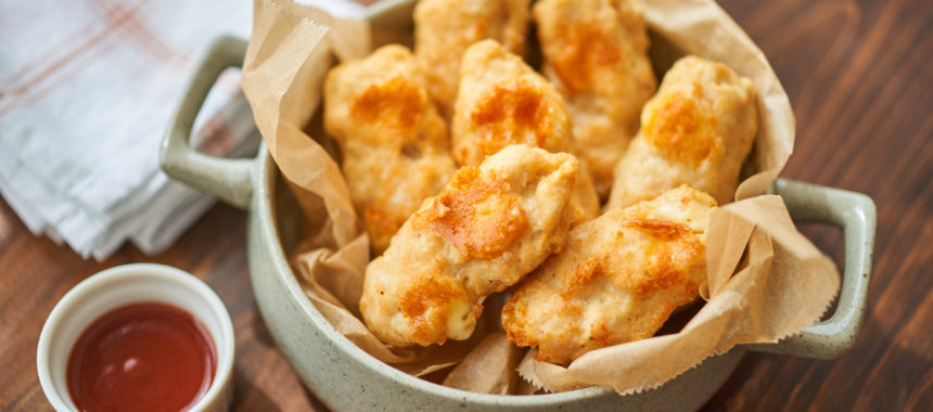 【糖質控えめレシピ】チーズスティックチキン BBQソース