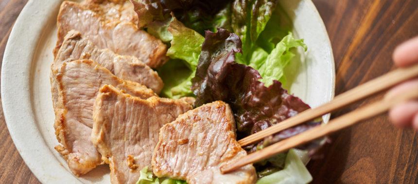【糖質控えめレシピ】みそ漬け豚のグリル