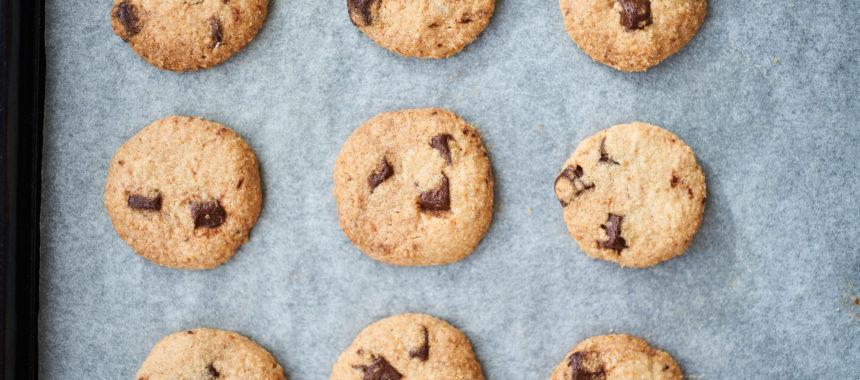 ココナッツとチョコレートのクッキー