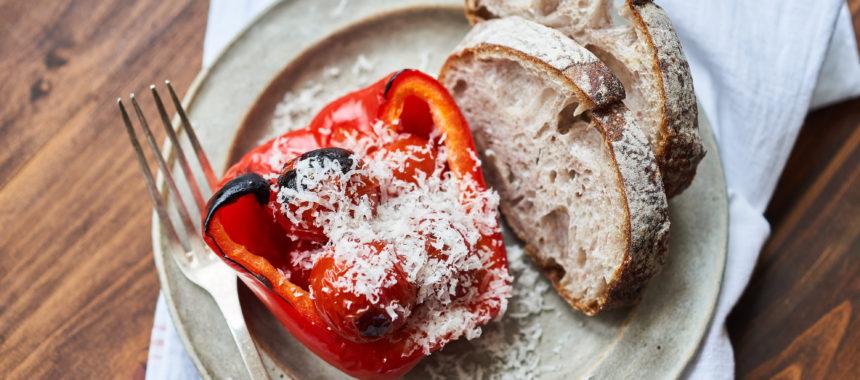 【ELLE gourmet掲載】パプリカとトマトの赤のグリル