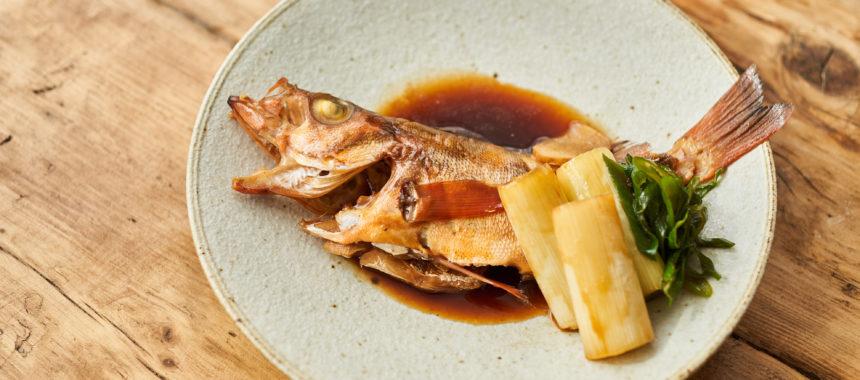 魚の煮付け(めばるの煮付け)
