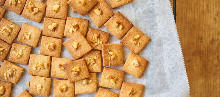 くるみとはちみつのクッキー