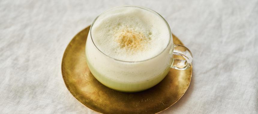 【糖質オフレシピ】抹茶豆乳ラテ