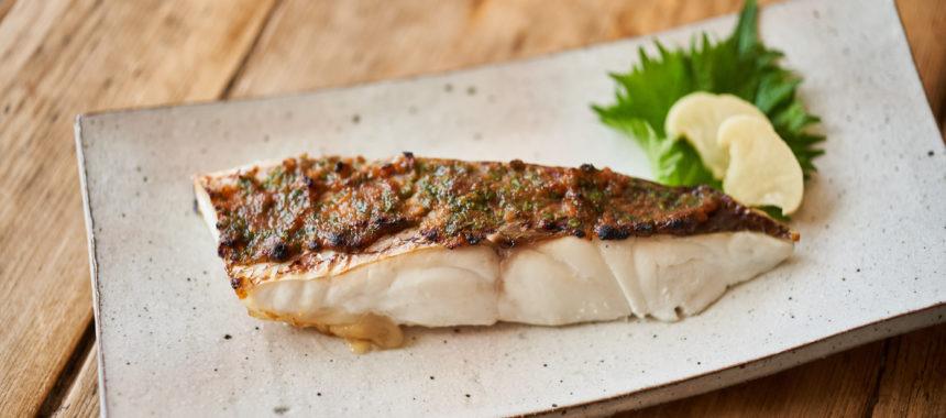 鯛のみそ焼き(白身魚のみそ焼き)