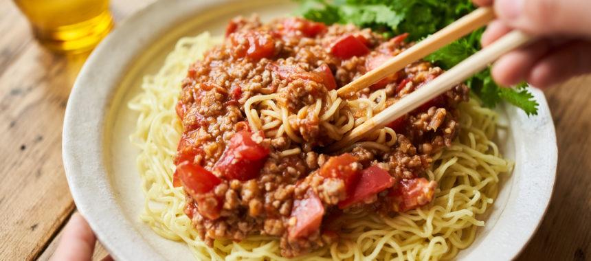 トマトジャージャー麺
