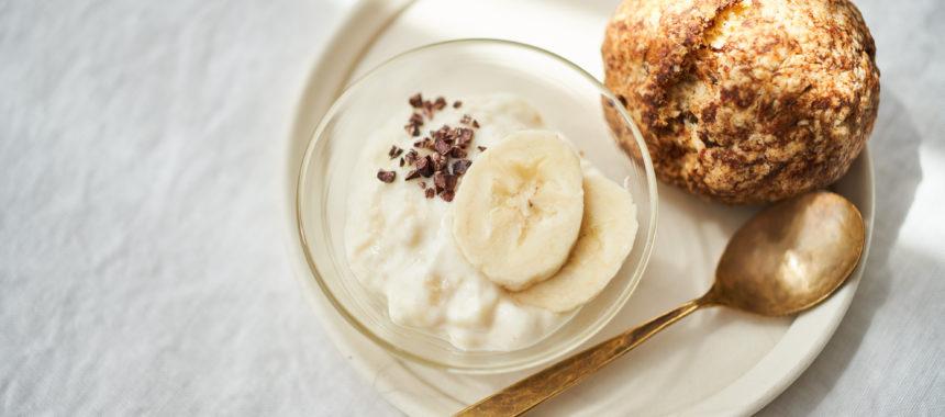 ヨーグルトバナナクリーム